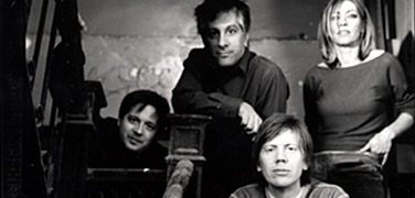 Sonic Youth: Shelley, Ranaldo, Moore & Gordon